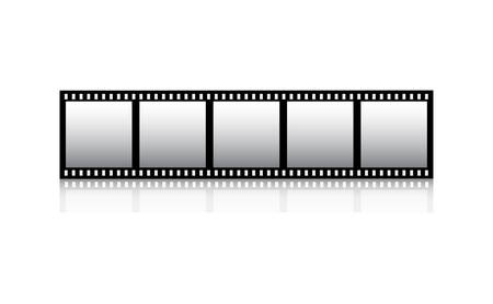 royalty: Film strip Illustration