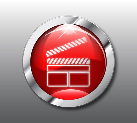 edit icon: Red action button