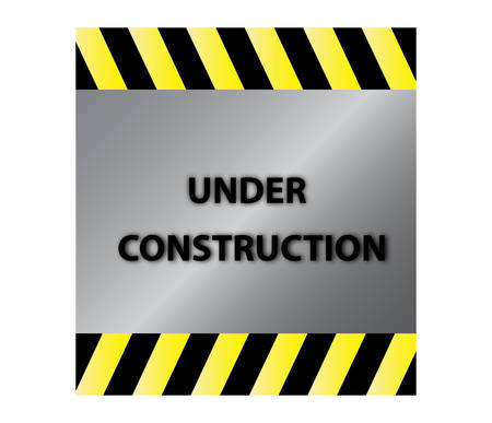 Under construction Stock Vector - 8977930