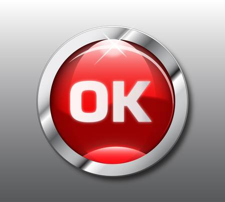 unchecked: Red ok button