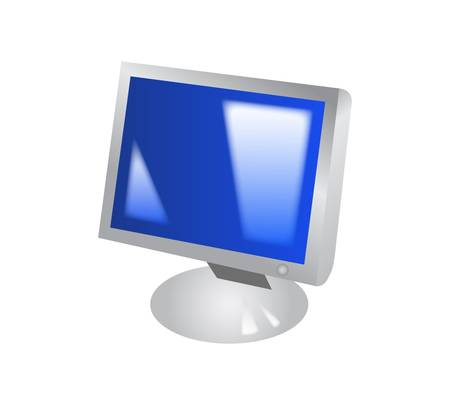 Computer icon Stock Vector - 9356055