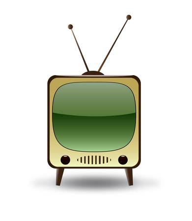 massage symbol: Retro TV