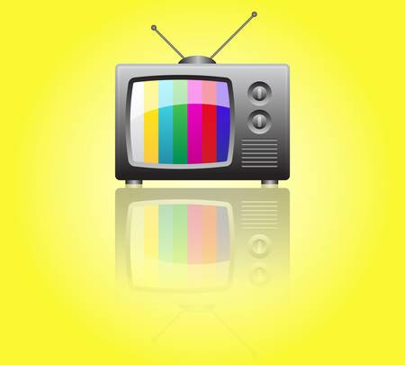 Retro TV Stock Vector - 9356058