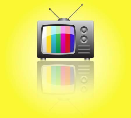 Retro TV Stock Vector - 9356058