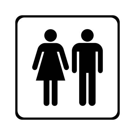 Male and female sign vector Stock Vector - 9356045