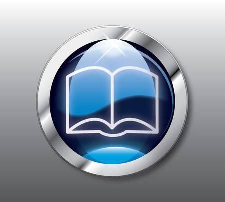Blue book button