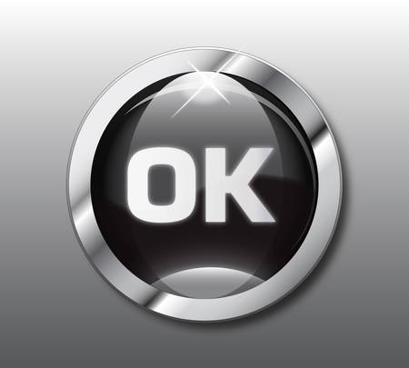 unchecked: Black ok button