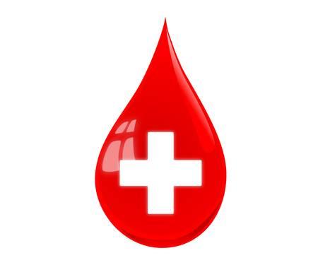 donor: Blood drop vector illustration
