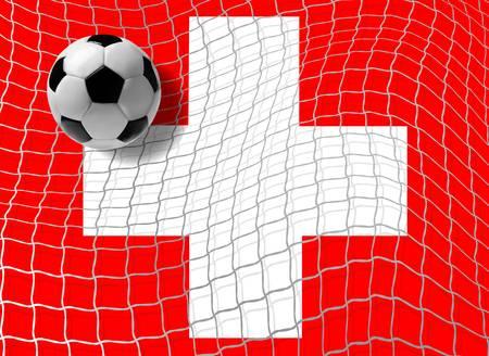 Football Swiss Vector