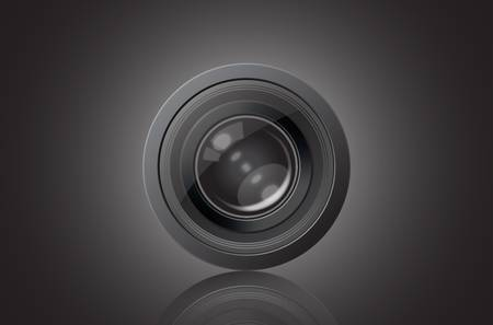 Lens vector image Vector