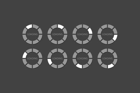 Loader Progress Bar  Vector
