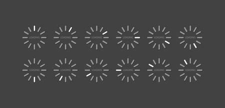 Loader bar-vector illustration Vector