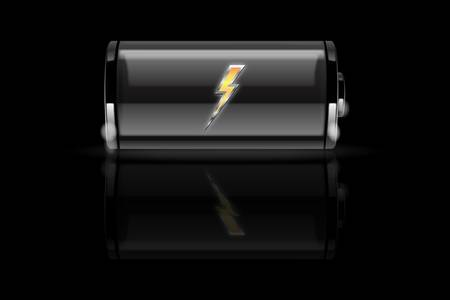 Battery charging-vector illustration Stock Vector - 9919828