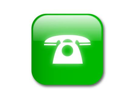 call bell: Call button -vector illustration