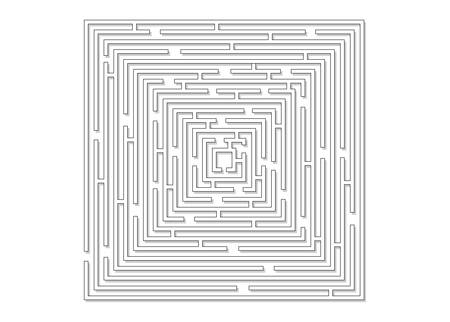 Labyrinth-Vector illustration  Vector