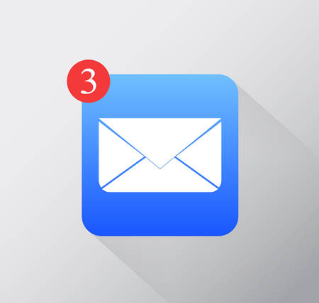 Vector email app icon-Eps10