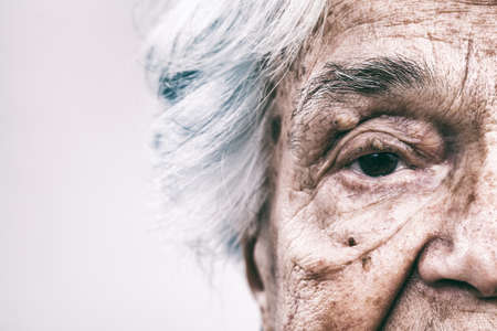 80 plus adult: Old woman