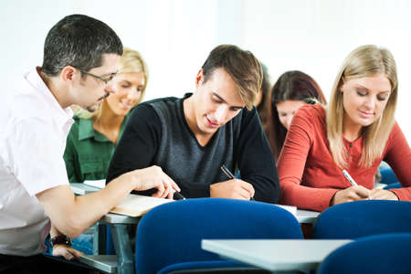 discourse: Students in class
