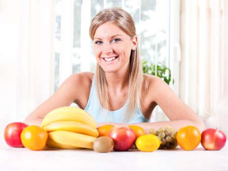 nutrici�n: Nutrici�n saludable Foto de archivo