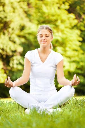 瞑想 写真素材