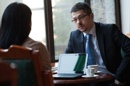 Business persons in meeting Foto de archivo