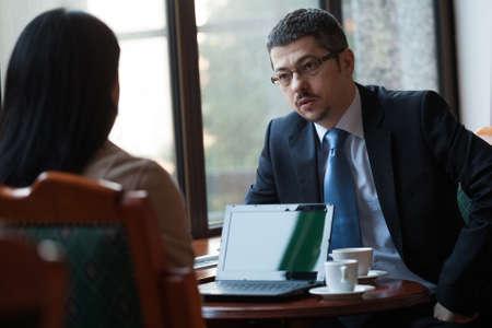 reuniones empresariales: Las personas de negocios en reuni�n