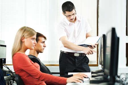 laboratorio: Aprendizaje de los estudiantes en el laboratorio de computación