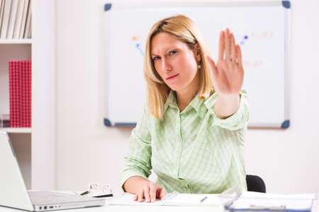Stop harassment at work!