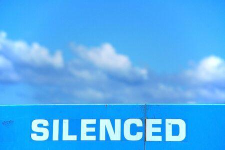 silenced: Silenced Sign