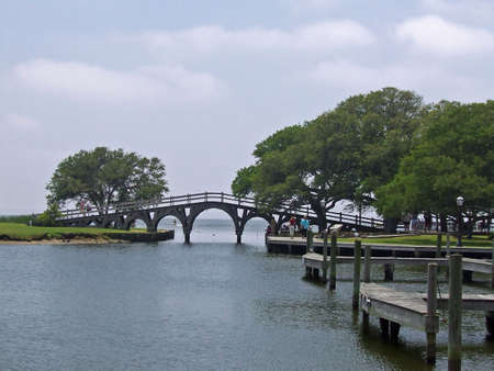 outerbanks: Brige and dock