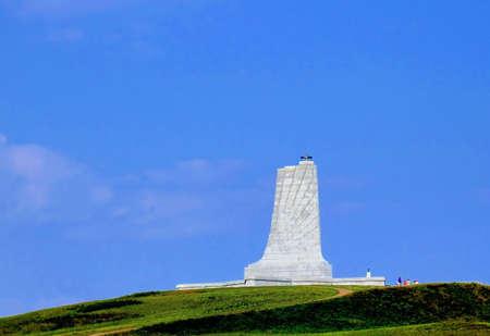przypominać: Wright brothers Pamięci w North Carolina.