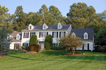 A large colonial style home in Pennsylvania.