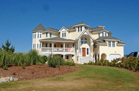Luxury beach house in the Outerbanks of North Carolina.
