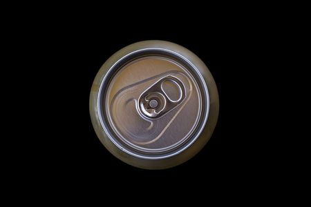 Closed can of water