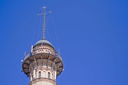 Fire tower in Moscow