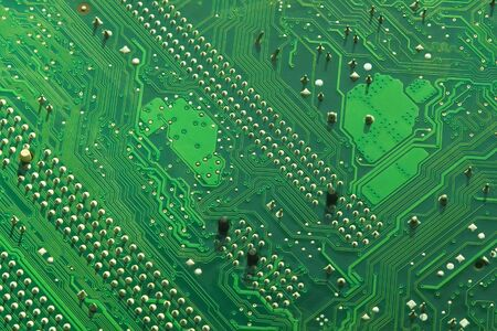 A part of computers circuit board