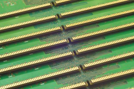 Background of RAM memory modules photo