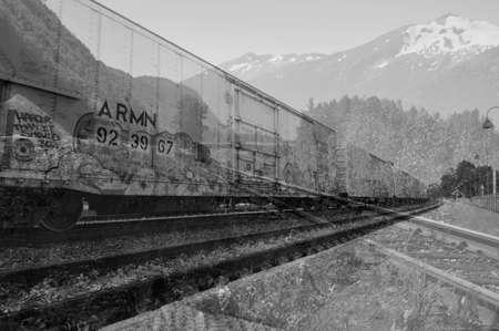 鉄道 写真素材