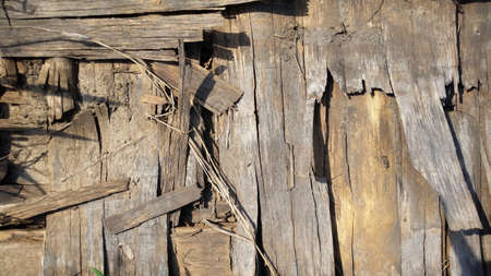 Old wooden background. Wood texture. Stockfoto