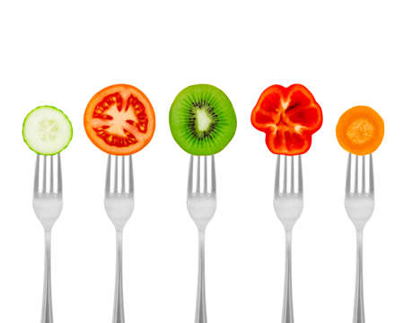 A healthy high-grade food from fruit and vegetables