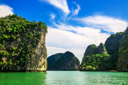 Beautiful islands in the middle of the sea in Thailand