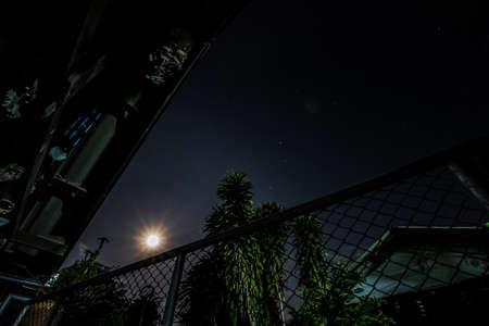 night: Moon light night