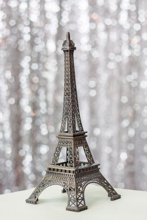 Eiffel Tower replica used as a decorative souvenirs and gifts. Stock Photo - 104762171