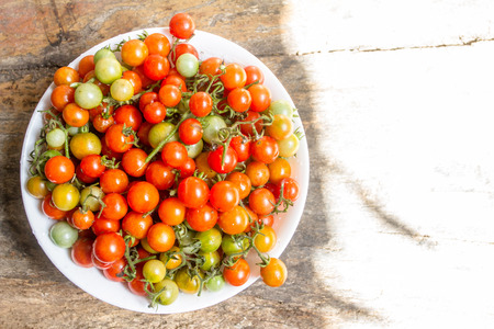 Cherry tomatoes with the name Solanum lycopersicum L. call that scientific var cerasiforme.