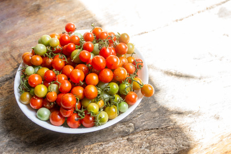 Fresh Cherry tomatoes is very useful for the body.