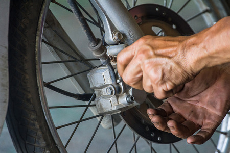 Techniques to change your motorcycle's brake pads the individual stores are not the same.