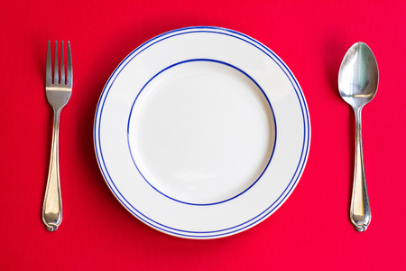 The dinner table etiquette is an important one in the dining room.