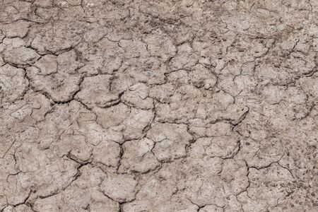 The land is dry until it breaks down, used as a background.