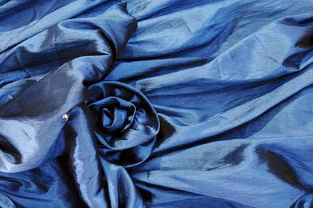 blue canvas photo