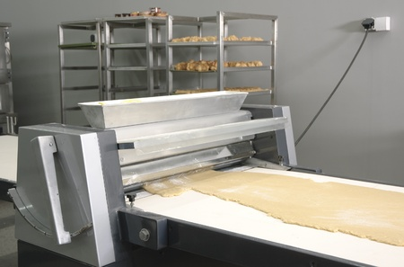 Machine for making dough